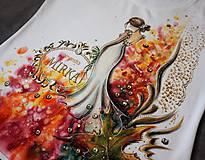 Tričká - zlatá jeseň - rozlúčkové tričko pre nevestu - 8499540_