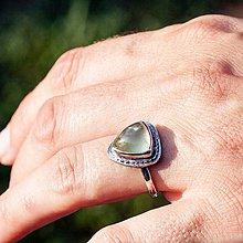 Prstene - Strieborný prsteň - Trijó - 8498869_