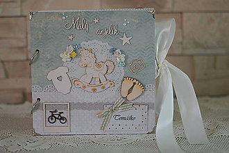 Papiernictvo - Fotoalbum pre chlapčeka - 8499225_