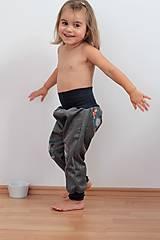 """Detské oblečenie - Softshellky """"priatelia lesa""""  (140, 100cm) - 8499577_"""