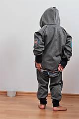 """Detské oblečenie - Softshellová bundička """"priatelia lesa"""" posledné 2ks, v.86-92 - 8499584_"""