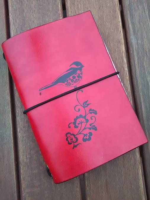 Kožený obal na zápisník