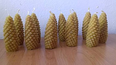 Drobnosti - sviečky  včelieho vosku - 8499466_