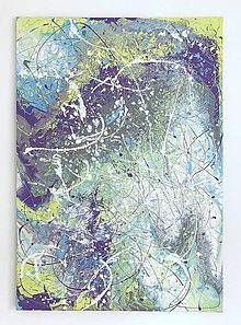 Obrazy - Farebná abstrakcia - 8498042_