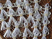 Pierka - Krémovo - biele pierko - 8497356_