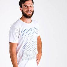 Tričká - tričko Modrotlač - 8497718_