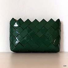 Peňaženky - tmavozelená peňaženka - 8498910_