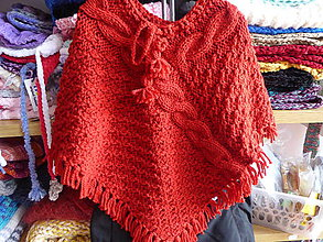 Detské oblečenie - pletené pončo LILIEN - 8502484_