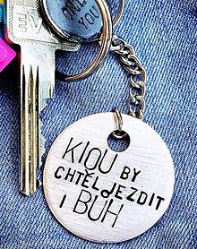 Kľúčenky - KRÚŽKY NAŠE MILOVANÉ 3,50€/ hrubka 1mm - 8502645_