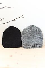 Doplnky - pánska čiapka... 100% prírodná... alpaka/vlna - 8502372_