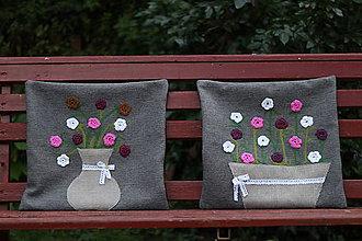 Úžitkový textil - Relax medzi kvetmi - 8501652_