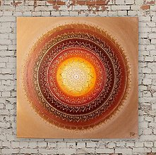 Obrazy - Mandala PROSPERITA II. 60 x 60 - 8499814_