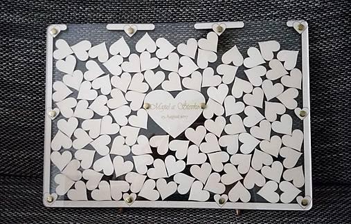 Svadobná kniha hostí - plexi obraz