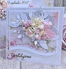 Papiernictvo - Svadobná pohľadnica - 8500530_