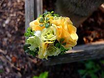 Ozdoby do vlasov - růže v parku - 8501089_