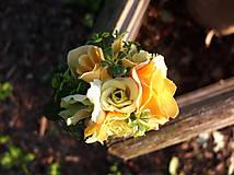 Ozdoby do vlasov - růže v parku - 8501091_