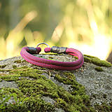 Pre zvieratká - Lanový obojok AKAI - pevný // flamingo - 8500500_