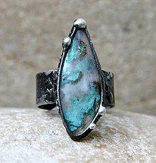 Prstene - Gem silica prsteň - 8501918_