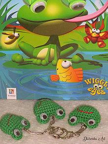 Kľúčenky - Prívesok, kľúčenka - Žabka Čľapka - 8504149_
