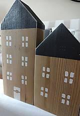 Dekorácie - Drevené domčeky - 8505638_