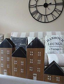 Dekorácie - Drevené domčeky - 8505639_