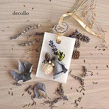 Dekorácie - Levanduľa - voskový plátok #05 - 8504760_