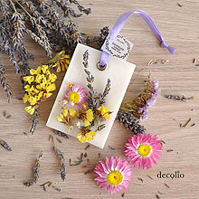 Dekorácie - Kvetinky - voskový plátok #07 - 8504788_