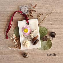 Svietidlá a sviečky - Kvetinky - voskový plátok #09 - 8504805_