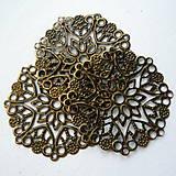 Komponenty - Filigrán 35mm-bronz-1ks - 8503300_