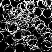 Komponenty - Spoj.krúžok 7mm-strieb-10g=cca 165ks - 8503196_