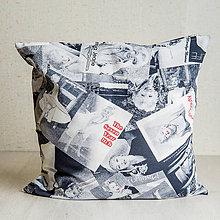 Úžitkový textil - Nezábudka: Obliečka na vankúš Marylin - 8503756_
