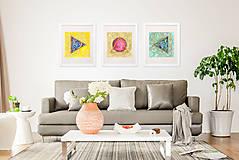 """Obrazy - Abstraktný akvarelový obraz """"Smutná koala"""" - 8505361_"""