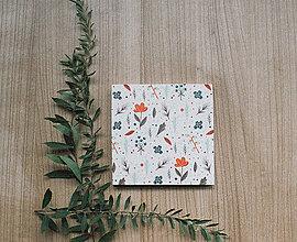 Papiernictvo - Leporelo 13x13 ,,Také pekné, dievčenské,, - 8505154_