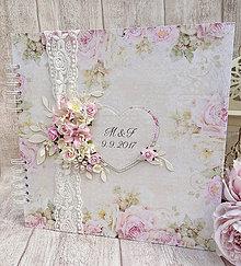 Papiernictvo - Svadobná kniha hostí - 8504219_