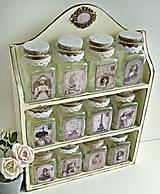 Nádoby - Dózičky z vanilkovej poličky - 8505148_
