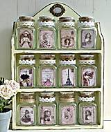 Nádoby - Dózičky z vanilkovej poličky - 8505149_