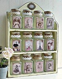 Nádoby - Dózičky z vanilkovej poličky - 8505147_