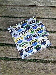 Textil - opičkové puzdro - 8503022_