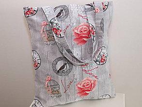 Nákupné tašky - ...ruže... - 8502858_
