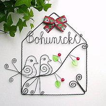 Tabuľky - svadobný domček - 8508271_