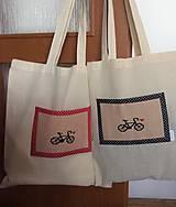 nákupná taška bicykel