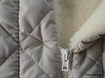 Textil - Deka DANIEL 100% merino Top Super wash ELEGANT 2 v 1 MINT mentolová - 8507324_
