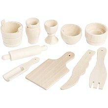Iný materiál - Miniatúrne kuchynské náradie - 8508069_