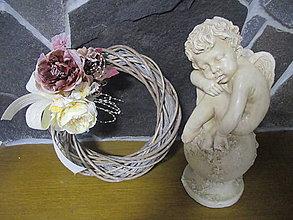 Dekorácie - Vintage venček - 8508831_