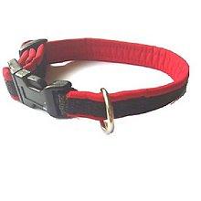 Pre zvieratká - Obojok červený softshell (Š:1,5cm) - 8506521_