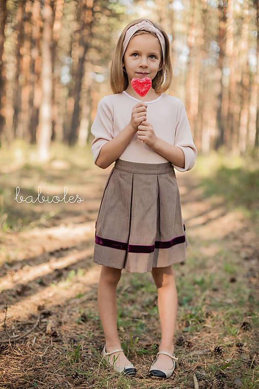 Detské oblečenie - Jupe Pour Filles II - 8508965_