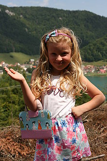 Detské doplnky - Set pastelkovníka s čelenkou z látok na želanie - 8506601_