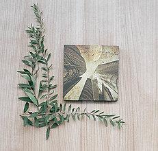 Papiernictvo - Leporelo s autorskou ilustráciou ,,Medzi múrmi,, - 8509211_