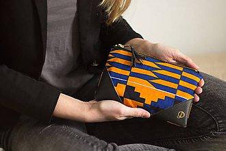Taštičky - Bavlnená taštička   africký vzor no.2 - 8507598_