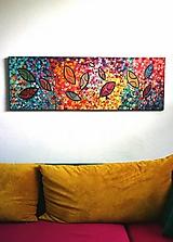Radosť - obraz maľovaný akrylom